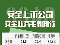 中国安全上市公司安全业务毛利排行